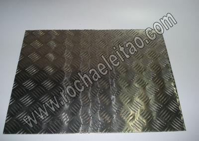 Chapas de Alumínio Anti-derrapante