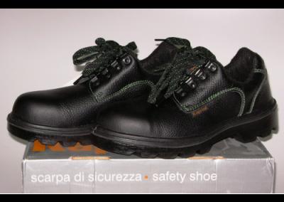 Sapatos com Biqueira de Aço