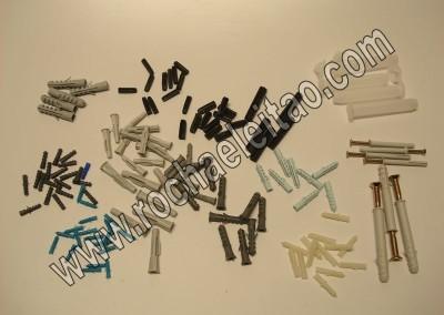 Buchas Plásticas e em Nylon